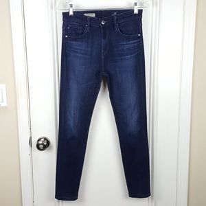 AG | The Farrah High-Rise Skinny Ankle Jeans
